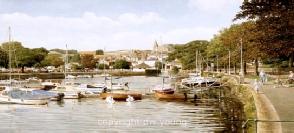 prints kingsbridge south devon south hams coast david young paintings