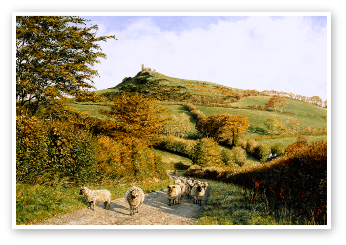 Brent Tor, Dartmoor print enlargement