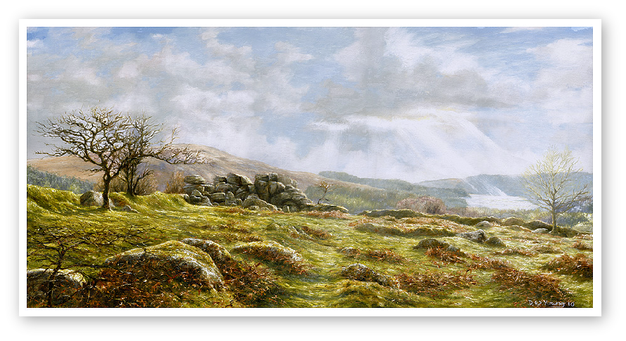 Burrator Panorama, Dartmoor print enlargement