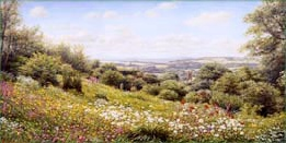 prints the garden house buckland monachorum david young paintings