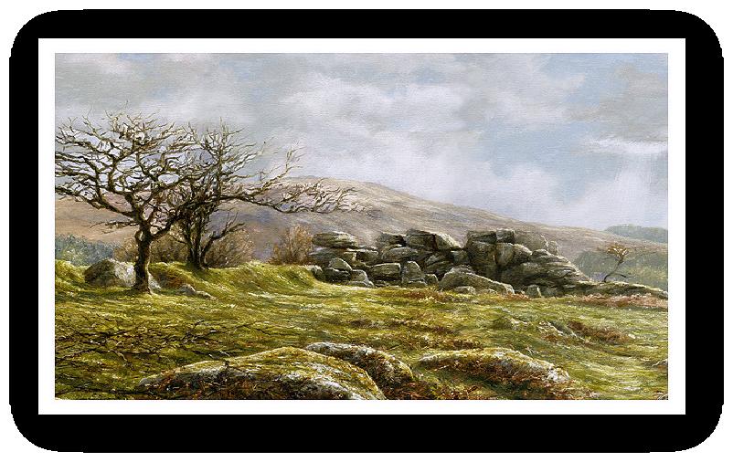Burrator Panorama, Dartmoor detail