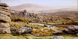 prints vixen tor dartmoor david william young paintings