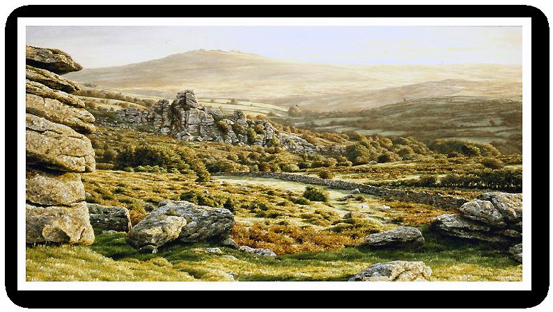 Vixen Tor Tor, Dartmoor print enlargement