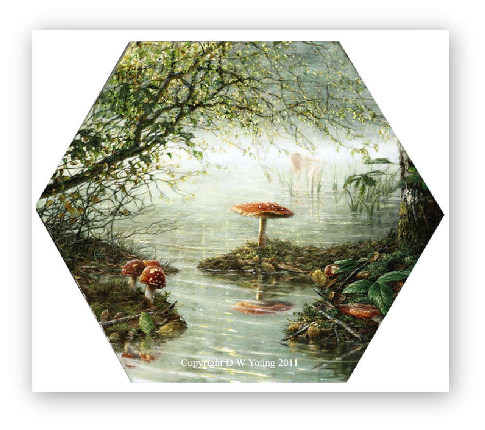 The Arsenic Pond painting by David William Young