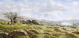 print burrator panorama dartmoor david young paintings