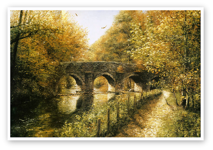 Plymbridge print enlargement