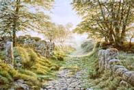 print swincombe farm lane dartmoor david young paintings