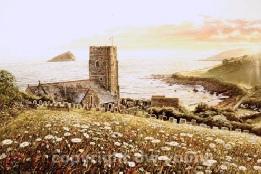 prints wembury south devon coast south hams david young paintings