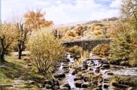 print dartmeet dartmoor david young paintings