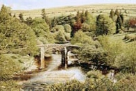 print hexworthy bridge dartmoor david young paintings