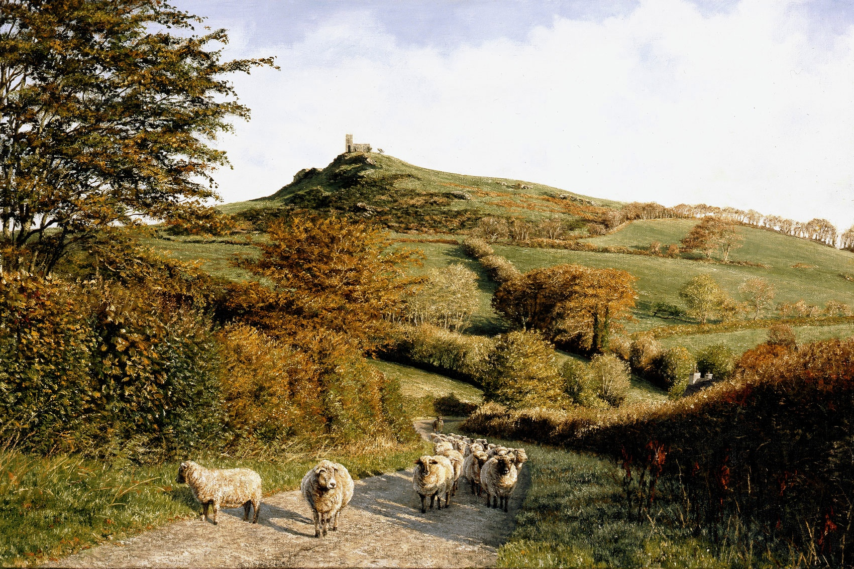 Brent Tor paintings David William Young artist