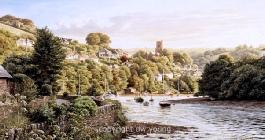 prints noss mayo south devon coast south hams david young paintings
