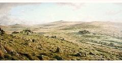 print ten tors dartmoor david william young