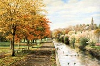 prints canal walk tavistock meadows david young paintings