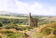 print wheal betsy blackdown dartmoor david young paintings