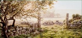 print apple granite swincombe dartmoor david william young paintings