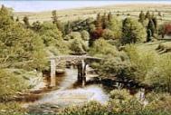 prints hexworthy bridge dartmoor david young paintings