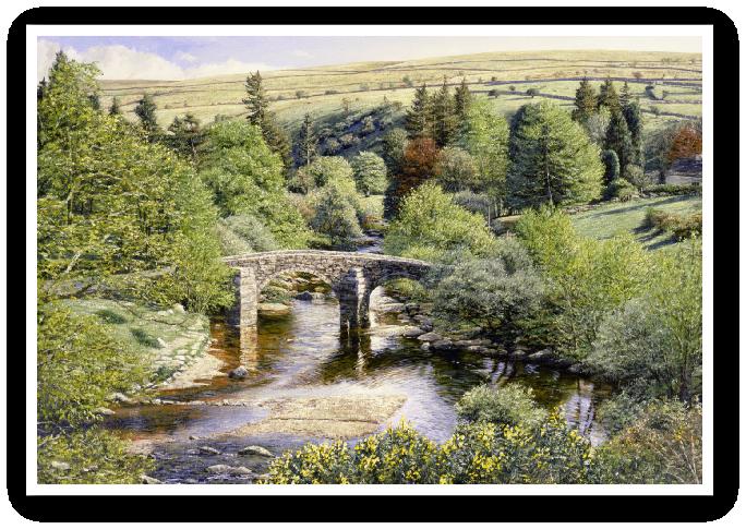 Hexworthy Bridge, Dartmoor print enlargement