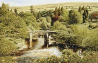 prints hexworthy bridge dartmoor david young paintings