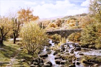 Dartmeet greetings card