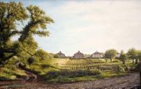 Wheal Maria Ern Jackmans garden painting david young artist